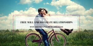Free Will and Soulmate Relationships