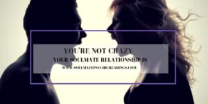 YOU'RE NOT CRAZY YOUR SOULMATE RELATIONSHIP IS
