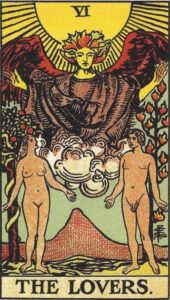 The Lovers Tarot Card for Soulmates